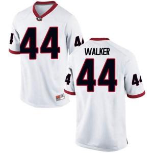 Men Georgia Bulldogs #44 Travon Walker White Game College Football Jersey 356129-716