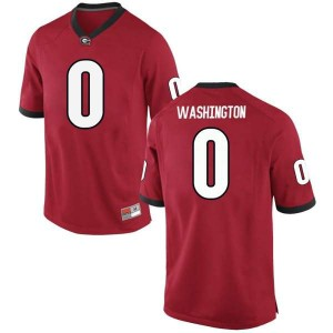 Youth Georgia Bulldogs #0 Darnell Washington Red Game College Football Jersey 489499-352
