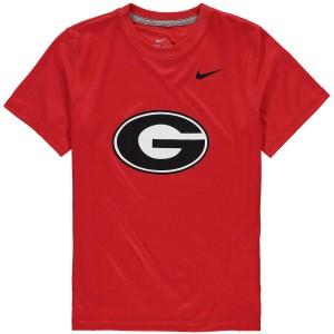 Youth Georgia Bulldogs Logo Red Legend Dri-FIT College Football T-Shirt 919837-607