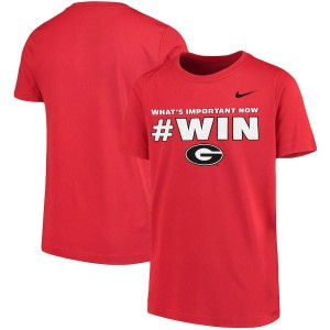 Youth Georgia Bulldogs Team Mantra Red College Football T-Shirt 329776-908