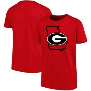 Youth Georgia Bulldogs Tradition State Red College Football T-Shirt 717058-863