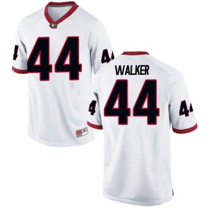 Youth Georgia Bulldogs #44 Travon Walker White Game College Football Jersey 624272-776